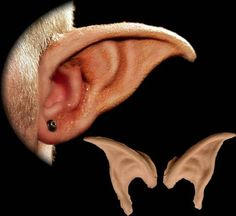 These long pointed costume ears are made out of Hollywood quality prosthetic grade foam latex for the highest quality look and best comfort. Includes: One pair of unpainted Sprite costume ears and app