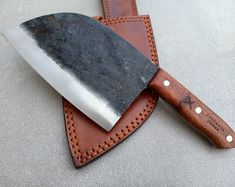 Bushcraft Serbian Knife | Damas Knives Cooks Knife, Chef Knife, Japanese Kitchen, Bushcraft Knives, Steak Knives, Serbian, High Carbon Steel, Shape Design, Kitchen Knives