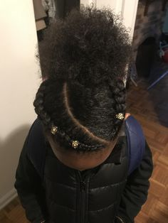 The Effective Pictures We Offer You About girls natural hairstyles rubber bands A quality picture ca Protective Hairstyles For Natural Hair, Natural Hair Braids, Natural Hairstyles For Kids, Kids Braided Hairstyles, Little Girl Hairstyles, Natural Hair Styles Kids, Mixed Girl Hairstyles, Relaxed Hairstyles, Natural Hair Puff