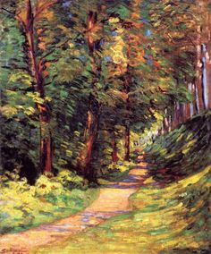 A Path in the Woods Armand Guillaumin- 1890