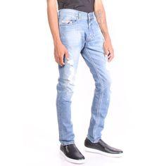 f2583c0b Men Diesel Jeans Tepphar 84FT Slim Carrot Blue Size 28/32 (eBay Link)