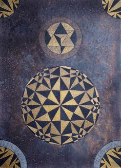 Izabela Ewa Ołdak, Revealed Truth, 36x26cm, acrylic, ecoline on paper, 2014