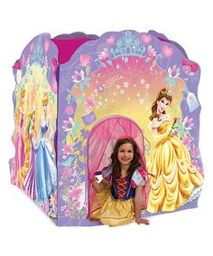How adorable is this Princess Deluxe Play Tent by Disney on #zulily today! Only  sc 1 st  Pinterest & Disney Jr. Sofia the First Play Tent | Tents and Disney jr