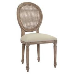 Louisa Side Chair in Rustic Brown