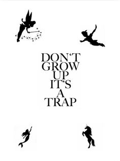 #disney #dontgrowupitstrap #tinkerbell #peterpan #mermaid #unicorn