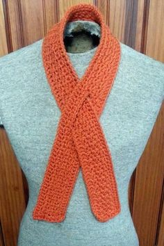 Wrapped In Hope Orange Leukemia and Kidney Cancer Awareness Scarf