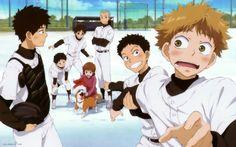 """ Baseball Manga - Season Announced! A Certain Scientific Railgun, Age Of Ultron, King Tut Tattoo, Flame Of Recca, Baseball Anime, King Shark, Avengers, Iron Man Wallpaper, Natsume Yuujinchou"