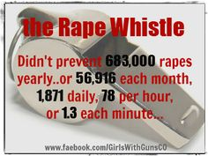 Joe Salazar (D-Colorado) thinks rape whistles are the answer to preventing an attacker.....   Girls with Gubs, Two Cannons, Two Cannons LLC, Gun Rights, Pro-Gun, Second Ammendment
