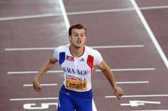 France's Christophe Lemaitre wins the men's 100m final of the 2012 European Athletics Championships at the Olympic Stadium in Helsinki.