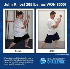"""Transformation Tuesday: John R. """"I have always been morbidly obese. Transformation Tuesday, Weight Loss Transformation, Fitness Goals, Fitness Tips, Cardiorespiratory Endurance, Beach Body Challenge, 200 Pounds, John R, Weight Loss Smoothies"""