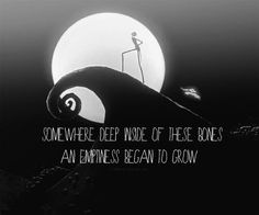 Nightmare Before Christmas quote....