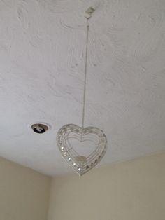 Cute hanging love heart