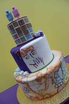 Boardgame Wedding by Alliance Bakery, via Flickr