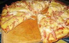 Hihetetlenül gyors serpenyős pizza - Egy az Egyben