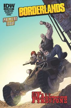 Borderlands Announces New Comic Book Series - http://videogamedemons.com/news/borderlands-announces-new-comic-book-series/