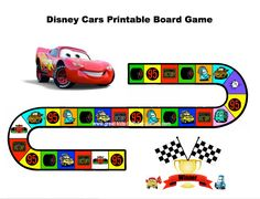 Disney Cars Birthday Party - GREAT FREE STUFF PRINTABLES GAMES COLORING PAGES
