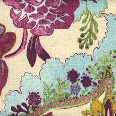 Bohemia from Threadcount #fabric #linen #multicolor
