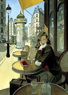 By Paris born illustrator and comic artist Jean-Pierre Gibrat