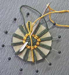 Garden of Grace: Wonderful Father and Twine Flower Tutorial Update for Really Reasonable Ribbon
