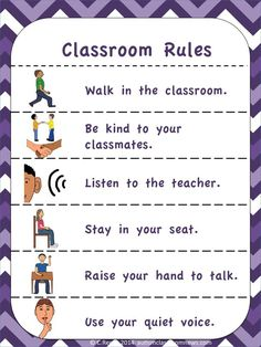 Visual Rules and Expectations (FREEBIE!) by Autism Classroom News: http://www.autismclassroomnews.com