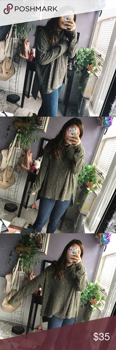AE Sweater So soft & comfy! Perfect condition I'm a size small and I just love the oversized look! Price firm American Eagle Outfitters Sweaters