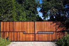 20 ide Desain pagar minimalis berbahan kayu ~ Teknologi Konstruksi Arsitektur