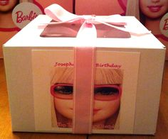 Barbie cupcake box via Sweeties Confections and Gifts