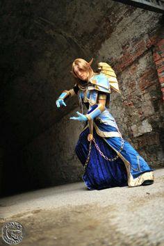 Blood Elf Priest T5 - World of Warcraft by ~azka-cosplay on deviantART