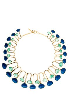 Meteor Shower Necklace by Lele Sadoughi for Preorder on Moda Operandi