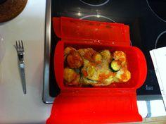 Lekué! Timbal de verduras! Un gran descubrimiento. Tupperware, Stuffed Peppers, Vegetables, Recipes, Products, Molde, Vegetarian Meals, Cooking Recipes, Light Recipes