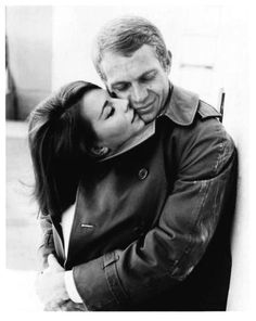 Steve McQueen and Natalie Wood One of my favourite soppy sentimental movies!
