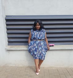 Sindiso's Lifestyle Diary: Exhaustion Or Laziness African Fashion, Personal Style, High Neck Dress, Dresses For Work, Laziness, Lifestyle, Vintage Pink, Style Fashion, Blue