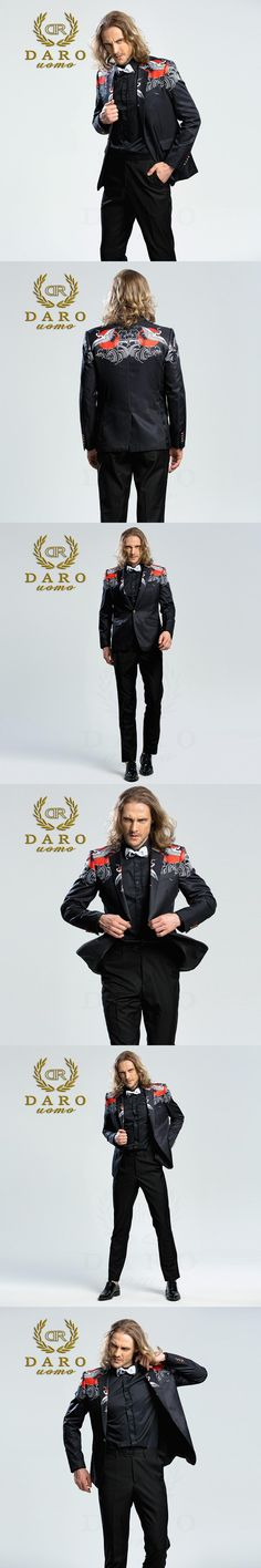 DARO 2018  Men's Printed Blazer casual Slim Fit  Suit Jacket Men Spring Autumn Trend Blazer Fashion Luxury Blazer Hombre DRJ8207