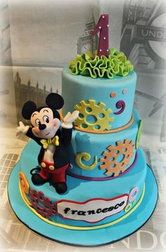 Mickey Mouse - Cake by Sabrina Di Clemente