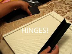 1 How to make the pages of a mini album