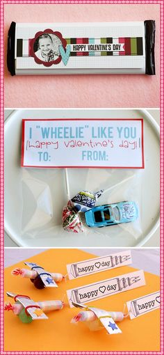 My son LOVES cars! I'm thinking this would be a great alternative to candy/cards!