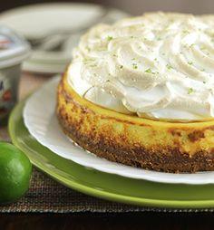 Cheesecake de Limão com Merengue