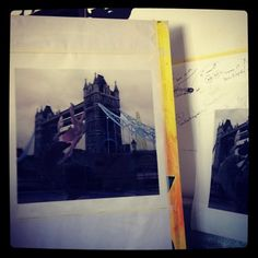It all started with a photo taken in London, near the Tower Bridge. The size of the printed photo is of 90 x 100 cm. Tower Bridge, Prints, Painting, Art, Art Background, Painting Art, Kunst, Printed, Paintings