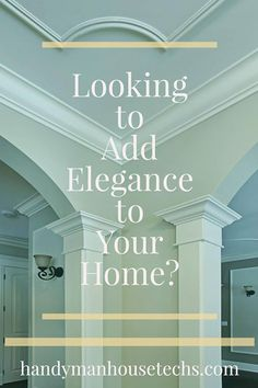 Update your home with the elegant look of #crown moulding board & #batten or #wainscotting with the pros at Handyman House Techs. This process requires skill and precision to avoid a botched job. Ask us about how you can incorporate electrical wiring behind the moulding to hide unsightly cords and wires! http://ift.tt/2aaEKD0