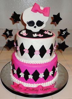 monster high cakes | Monster High Cake | Flickr - Photo Sharing!
