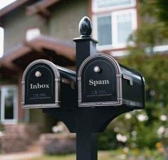 This would be nice (inbox and spam)