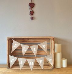 A personal favourite from my Etsy shop https://www.etsy.com/uk/listing/503286734/flip-flops-hessian-bunting-banner