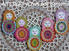 Häkeln Sie Muster Matroschka von ATERGcrochet von ATERGcrochet