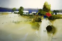 John Lovett #watercolor jd
