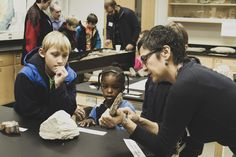 Grand Rapids Community College's biological sciences, physical sciences, exercise science, radiologic technology and occupational therapy programs organized a Community Science Day, with experiments, projects and tours.