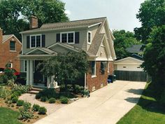 Cool bungalow exterior second story addition exterior designs pinterest Bungalow master bedroom addition