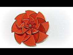 Flores de papel fáciles. Paper flowers easy. - YouTube