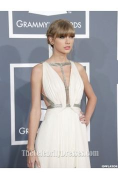 Taylor Swift Grammys 2013 Prom Dress Red Carpet Gown - TheCelebrityDresses
