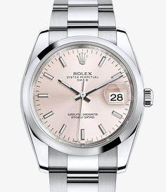 Montre Rolex Date 34 : Acier 904L – 115200