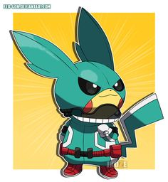 Pikachu is known for cosplaying some of your favourite Pokemon in figures and toys but this artist has moved a step further and created a Pikachu Cosplay Anime & Manga Pikachu Pikachu, Deadpool Pikachu, Pokemon Avatar, Pokemon Manga, Pokemon Fan Art, Pokemon Fusion, Pikachu Drawing, Pokemon Sketch, Cool Pokemon Wallpapers